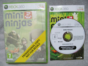 Mini Ninjas Game for Microsoft Xbox 360 Consoles MINT PROMOTIONAL COPY PROMO