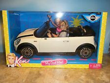 Barbie & Ken My Cool Mini Convertible Car With Dolls *New*