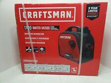Craftsman 1700w Gas Inverter Generator CMXGIAC2200 2200 Starting Watts 80cc