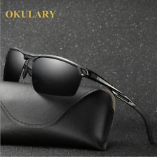 OKULARY 8 Colors Men Aluminum Polarized Sunglasses Driving Sports Glasses Hot