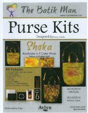 The Batik Man Purse Fabric Kit - Shoka Golden - 1/2 Price Regular Retail !