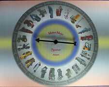 MOTOR MOJO SPINNER Vehicle Game Divination Fortune Telling Oracle Cars Trucks