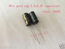 5Pcs Gold cap 2.5v3.3F Farad Capacitor Super Capacitors for Panasonic Goldcap