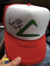 Veronica Taylor Voice Actor Autograph Ash Hat