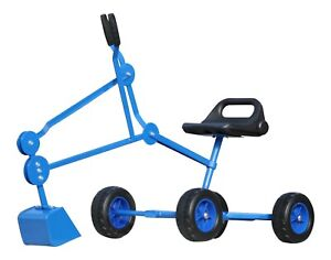 40% Off Heavy Duty Sand Digger Toy with Wheels with Minor Finish Blemishs Blue