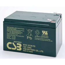 CSB EVX 12120 F2 ciclica SIGILLATO Lead Acid Battery 12v 12Ah evx12120f2 SLA