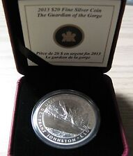 2013 Proof $20 Group of Seven #5-Guardian of the Gorge-Franz Johnston .9999 silv