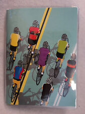 aa BIKE CYCLING COELACANTH POCKET NOTEBOOK journal blank book idea diary 5""