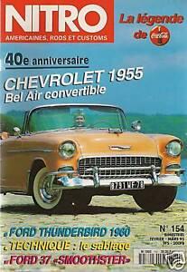 NITRO 154 CHEVROLET BEL AIR 55 THUNDERBIRD 60 FORD 37 NASH PICK UP 1946 FORD 34