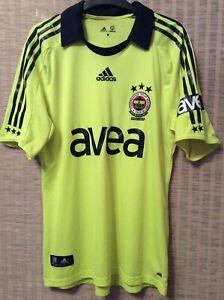 Fenerbache 2008/09 Adidas Football Shirt Adult Medium.