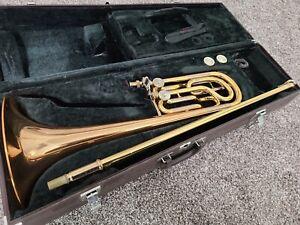 Yamaha Bass Trombone Double Rotor Nice!