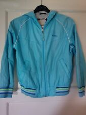 Next Boys Age 8 Years Old Rain Jacket in Light Blue in excellent condition