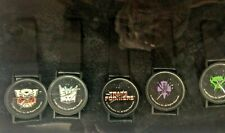 FULL Transformers BotCon 1999 Convention Exclusive G1 Logo Watch SET(5)