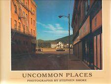 Uncommon Places Photographs Stephen Shore Aperture 1982 Vtg Photo Hardcover