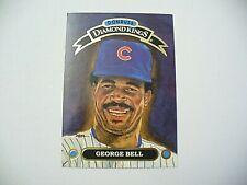 "MLB - Donruss 1991 Diamond Kings ""George Bell"" Baseball Card # DK-7 - VINTAGE"