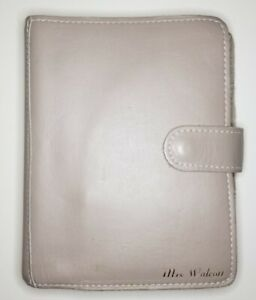 Personal Wide Foxy Fix Planner Binder Taupe