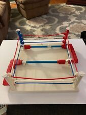 Mego Muhammad Ali & His Opponent Boxing Ring by Mego, 1976 Ring And Box Only