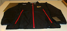 Chicago Blackhawks NHL Hockey Reebok Center Ice Rink Jacket Full Zip Small