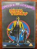 Dick Tracy DVD 1990 Comic Familia Película de Cine Con / Warren Beatty Y Madonna