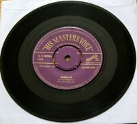VGC ELVIS HOUND DOG b/w DONT BE CRUEL Vinyl (HMV 45-POP 249) PURPLE GOLD