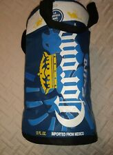 Corona Extra Cooler Brand New, Blue, white & yellow Can shape zip top 2 handles