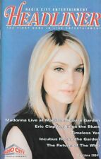 MADONNA  MSG  NYC  Concert Program 2004 The Who Eric Clapton