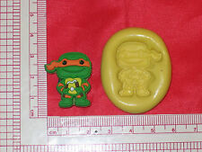 Ninja Turtles Silicone Push Mold 138 Fondant Cake Candy Chocolate Resin