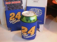 Set of 2 Jeff Gordon Can Coolers Coolie Koozie Neoprene Nascar DuPont #24 New