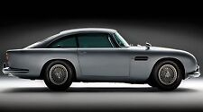"Aston Martin db5 car - James Bond- 42"" x 24"" LARGE WALL POSTER PRINT NEW"