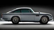 "Aston Martin db5 car - James Bond- 42"" x 24"" LARGE WALL POSTER PRINT NEW"