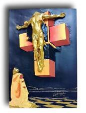Scultura originale salvador dalì corpo ipercubico corpus hypercubus 1954 vintage