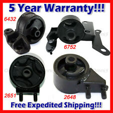 M071 Fits 1995-1997 Kia Sephia 1.8L Engine Motor & Trans Mount Set 4pcs