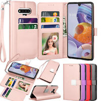 For LG Stylo 6 Stylo 5 Stylo 4 Flip Leather Card Holder Stand Wallet Case Cover