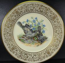 Lenox Boehm Birds Plate Mockingbirds Collector Plate 1978 Limited Edition