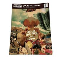 Oasis Dig Out Your Soul Guitar Tab Sheet Music Edition Paperback Book 2008