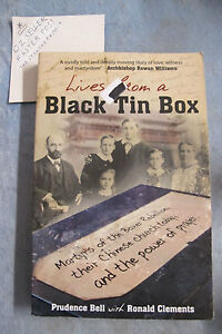 Lives From A Black Tin Box - Prudence Bell Ronald Clements OzSellerFasterPost!