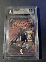 1997-98 Topps Finest #39 Michael Jordan Chicago Bulls w /Coating BGS 8.5. ( J17)