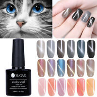 7.5ML UR SUGAR Soak Off Cats Eye Gellack Nagellack Magnetic Gel Polish Maniküre