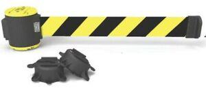 BANNER STAKES MH5007 Magnetic Belt Barrier,30ftL,45gp50