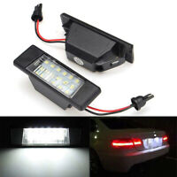 2x 18LED Number License Plate Light Lamp For Nissan Versa Note X-trail Juke Q50