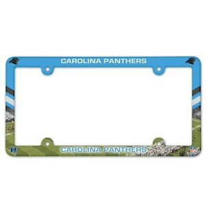 Caolina Panthers License Plate Frame