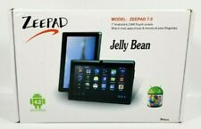 NIB Zeepad 4GB Flash, Wi-Fi, 7in - Black Jelly Bean Tablet