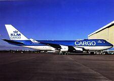 KLM Cargo , Boeing 747-400 F ,  Ansichtskarte