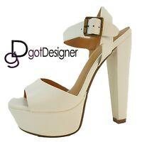 NEW Women's Fashion Dress Shoes Platforms Wedges High Heels Strap Summer Sandals