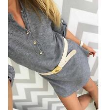 spring new style V neck Long sleeve sweater frock women's dress YY173