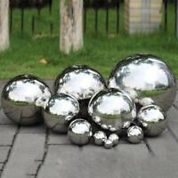 19-300mm 304 Stainless Steel Mirror Sphere Hollow Round Ball Garden Ornament