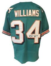 Ricky Williams Autographed Pro Style Teal Jersey JSA Authenticated