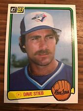1983 Donruss Dave Stieb Toronto Blue Jays #507