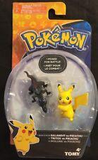 Pokémon Salandit Vs Pikachu 2in. Figures Tomy New 2017
