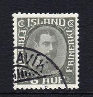 Iceland 6 Aur Stamp Used c1931-33 (3388)